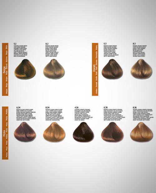 Colore per capelli crema color delice 8 biondo chiaro for Cartella colori dikson